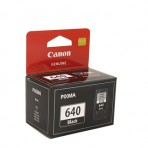 Canon PG640 Black Ink Cart