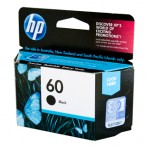 HP #60 Black Ink CC640WA