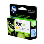 HP #920 Yellow XL Ink CD974AA