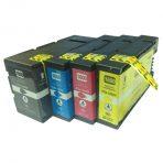 Canon PGI-1600XL Premium Pigment Compatible Inkjet Cartridge Set (4 Cartridges)